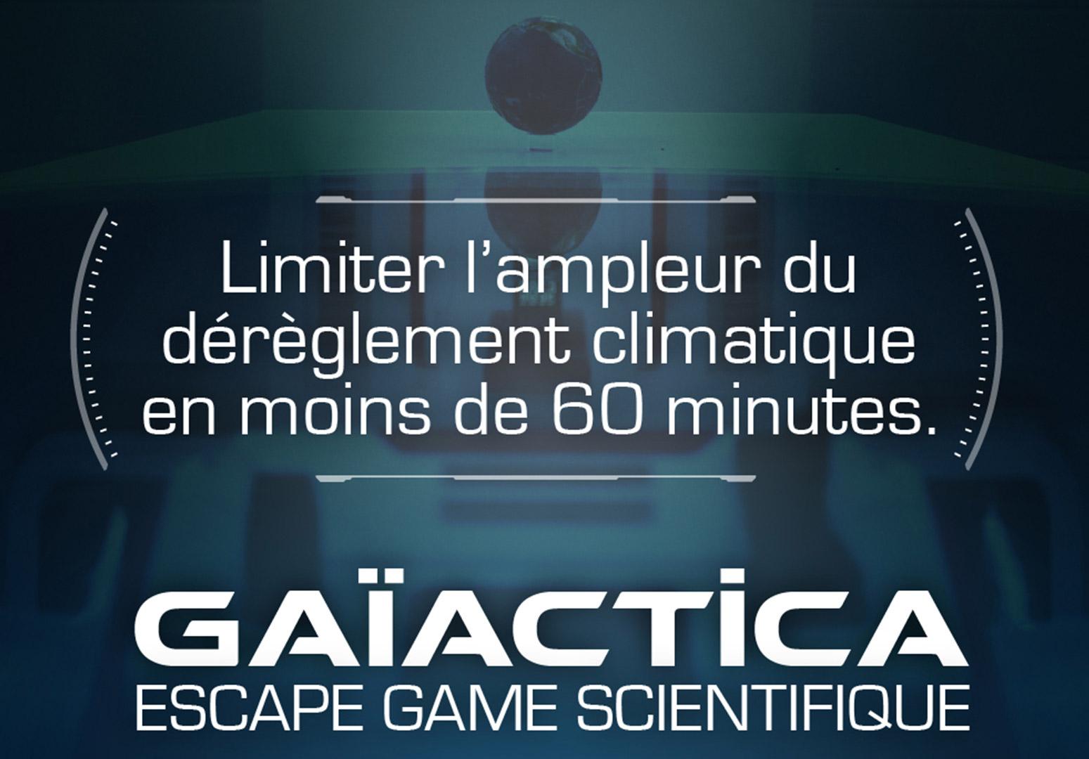 Gaïactica : Escape Game pour Sauver l'Humanité à Bordeaux